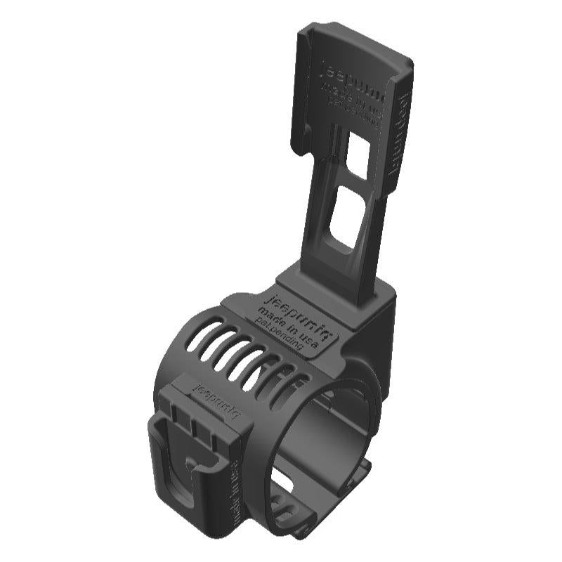 Wouxun KG-UV920P HAM Mic + Garmin Mini InReach SATCOM Holder Clip-on for Jeep JL Grab Bar - Image 1