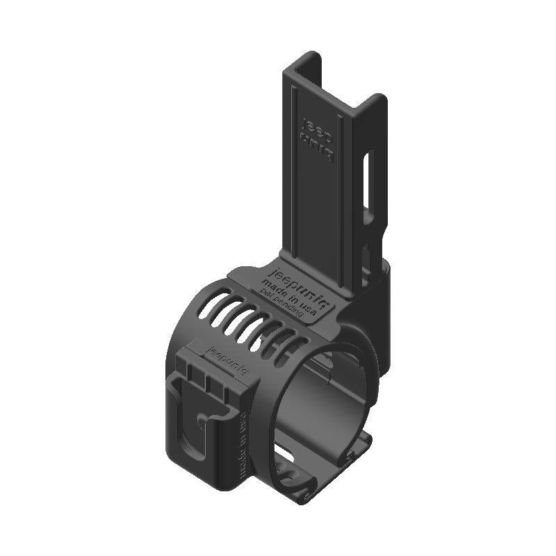 Midland MXT275 GMRS Mic + Baofeng UV-5R Radio Holder Clip-on for Jeep JL Grab Bar - Image 1