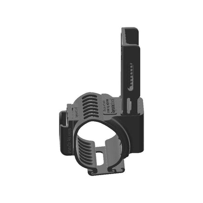 Uniden PRO505 CB Mic + Btech 6X2 DMR Radio Holder Clip-on for Jeep JL Grab Bar - Image 3
