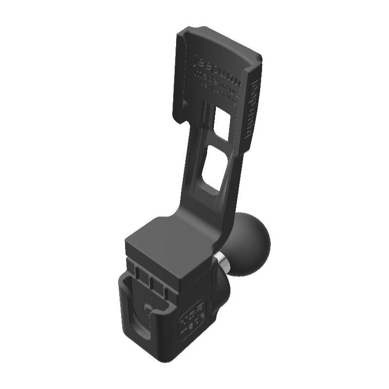 Yaesu FTM-400DR HAM Mic + Garmin Mini InReach SATCOM Holder with 1 inch RAM Ball - Image 1