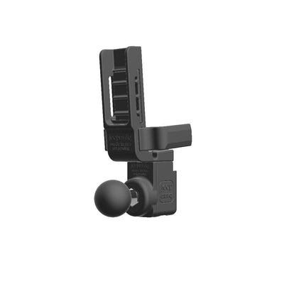 Uniden BEARCAT 680 CB Mic + Connect Systems CS580 Radio Holder with 1 inch RAM Ball - Image 4