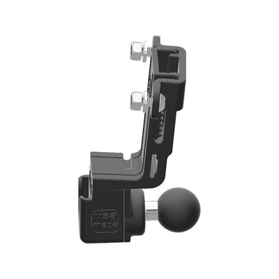Stryker SR-89 HAM Mic + Delorme inReach Device Holder with 1 inch RAM Ball - Image 2