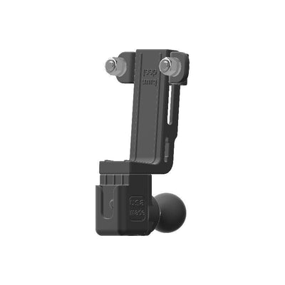 Stryker SR-89 HAM Mic + Delorme inReach Device Holder with 1 inch RAM Ball - Image 3