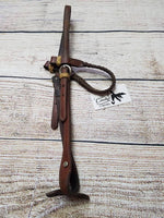 Braided Browband Leather Headstall