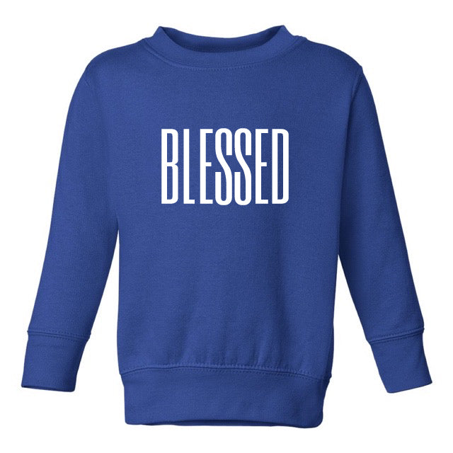 BLESSED SWEATSHIRT – TODDLERS