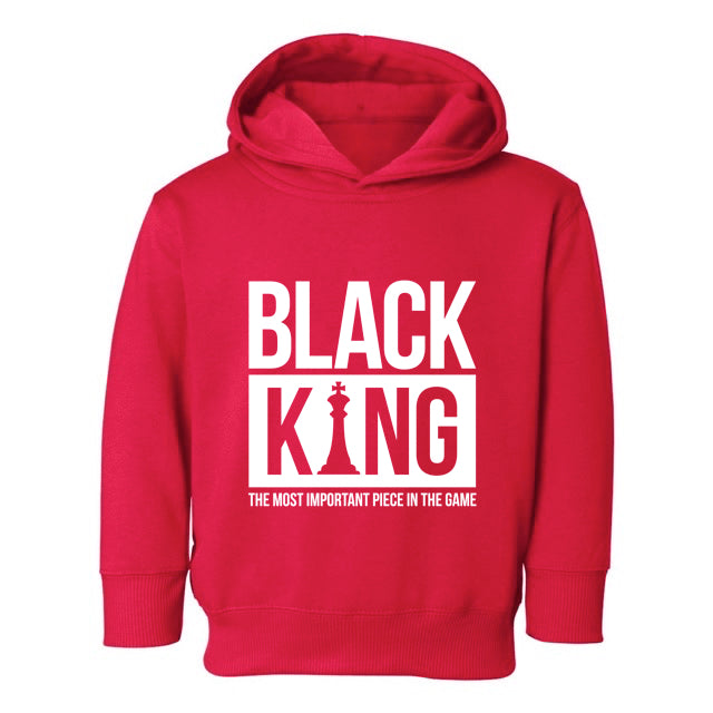 BLACK KING HOODIE – TODDLERS