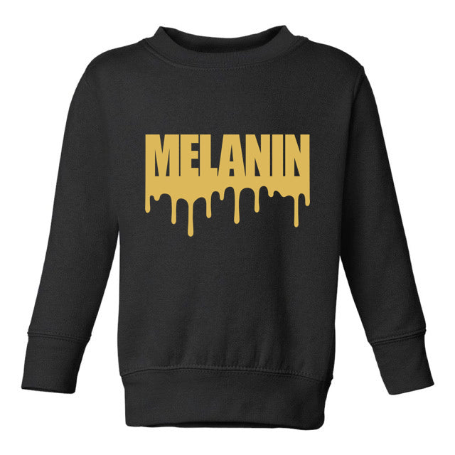 MELANIN DRIP SWEATSHIRT – TODDLERS