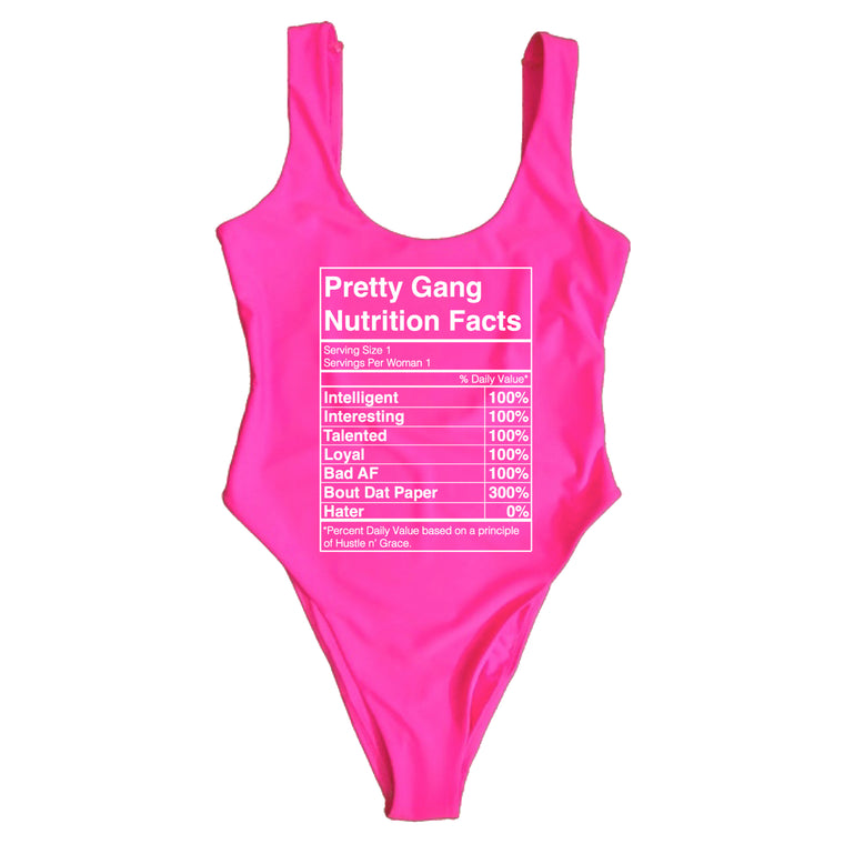 PRETTY GANG NUTRITION FACTS