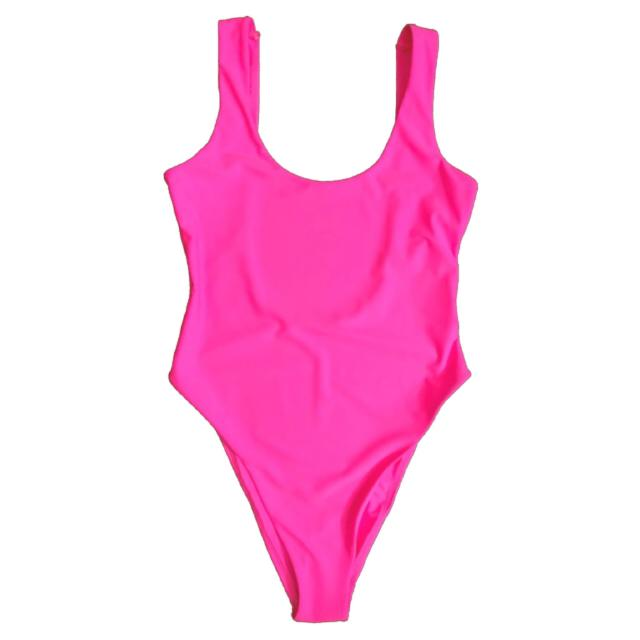 HOT PINK (BLANK SWIMSUIT)