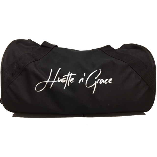 HUSTLE N' GRACE DUFFLE BAG