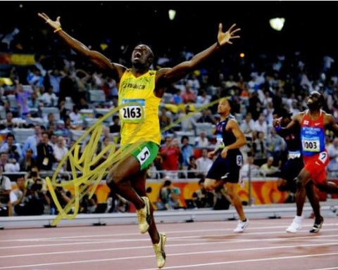 66b919e99e403c Usain Bolt Signed - Autographed Jamaican Olympic Gold Medalist Track and  Field 8x10 inch Photo -