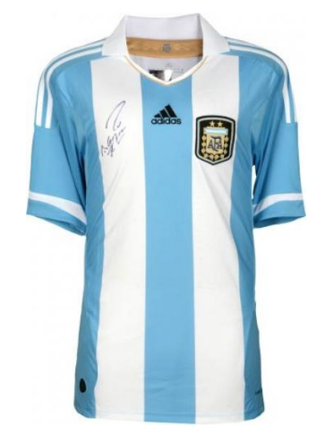Framed Sergio Aguero Argentina Autographed 2015-16 Jersey. Images   1   2    3 ... e14f52c39