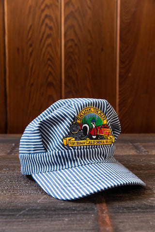 Skunk Train Logo Youth Engineer Hat