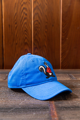 Mr. Skunk Embroidered Youth Ovs Rookie Washed Twill Hat