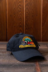 Skunk Train Logo Embroidered Ovs Benchmark Hat