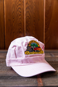 Skunk Train Logo Adult Engineer Hat