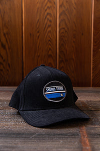 Skunk Train Oval Patch Embroidered Patch Ovs Ace Corduroy Cap