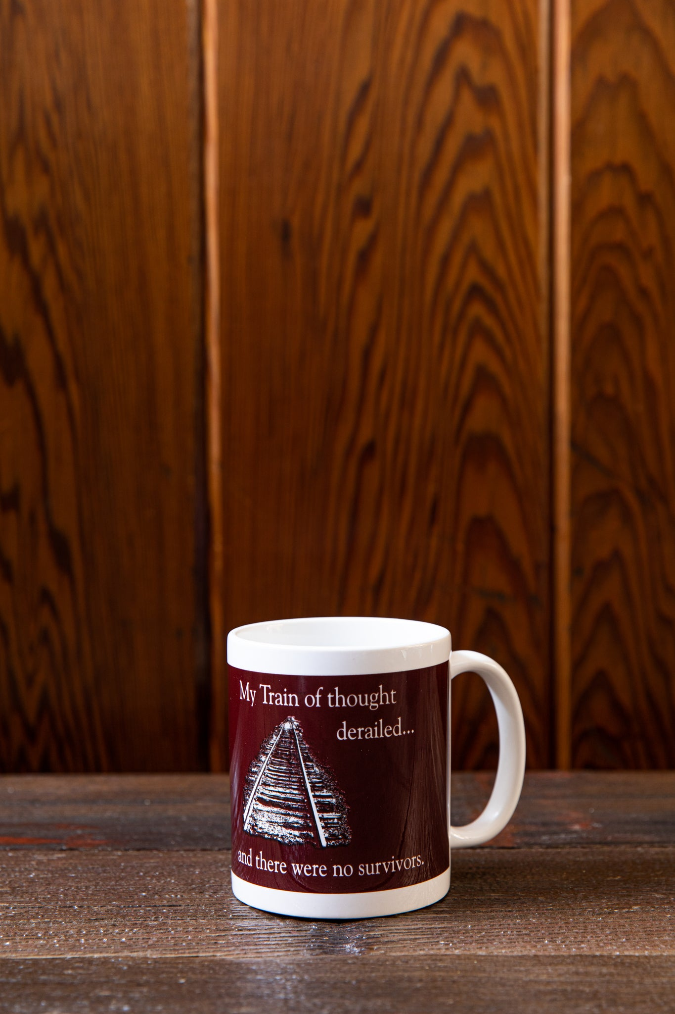 Train Of Thought with Logo Mug