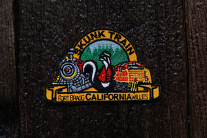 Large Skunk Train Logo Patch