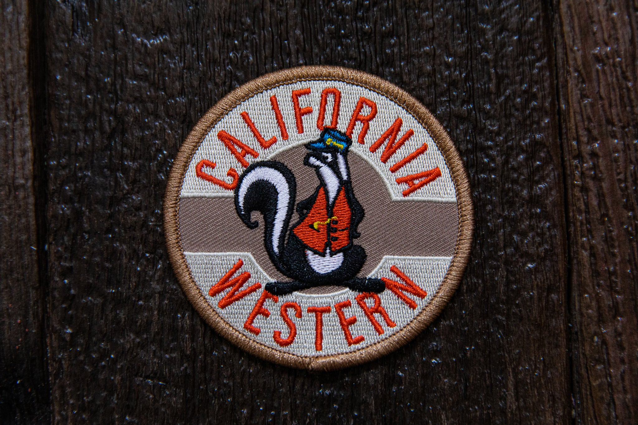 "Cali West Skunk 3"" Patch"