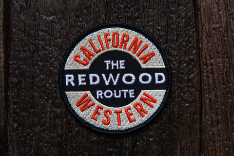 "Cali West Redwood 3"" Patch"