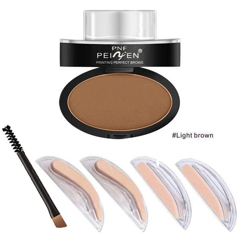 Huamianli Eyebrow Powder Stamp - Health & Care