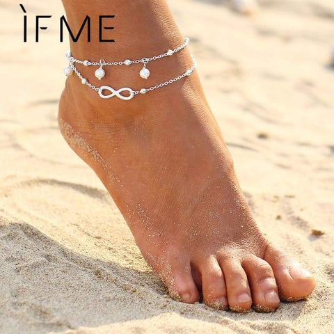 If Me Fashion Infinity Charms Anklets - Clothing