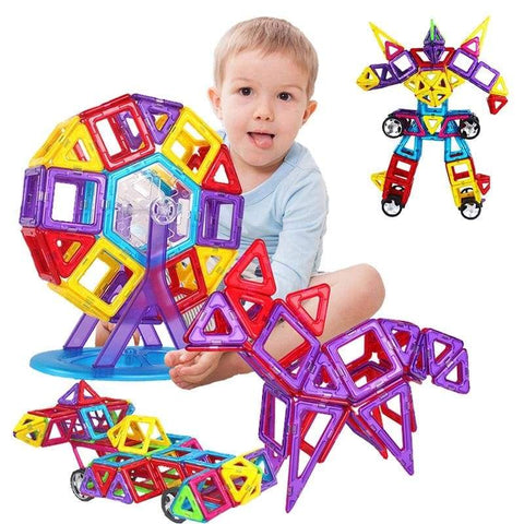 Kedior Magnetic Educational Building Blocks Toys For Kids - Baby