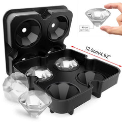 3D Diamond Ice Cube Maker