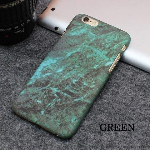 Rockwolf Marble Iphone Cases - Green / For Iphone 5 5S Se - Iphone
