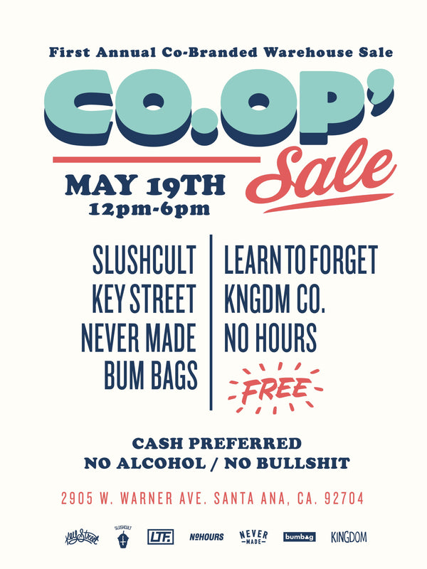 Slushcult Presents: The Co-Op Sale