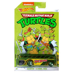 Teenage Mutant Ninja Turtles Hot Wheels (Surfin School Bus)