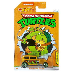 Teenage Mutant Ninja Turtles Hot Wheels (Michelangelo Midnight Otto)