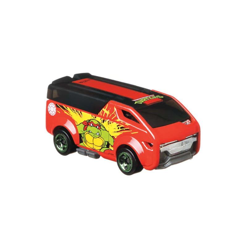 Teenage Mutant Ninja Turtles Hot Wheels (Raphael The Vanster)