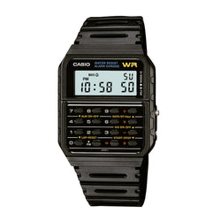 Casio Classic Calculator Watch Black Resin