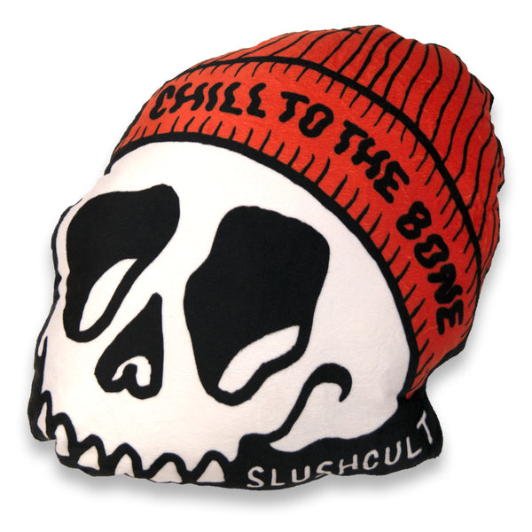 Chill To The Bone Plush Pillow