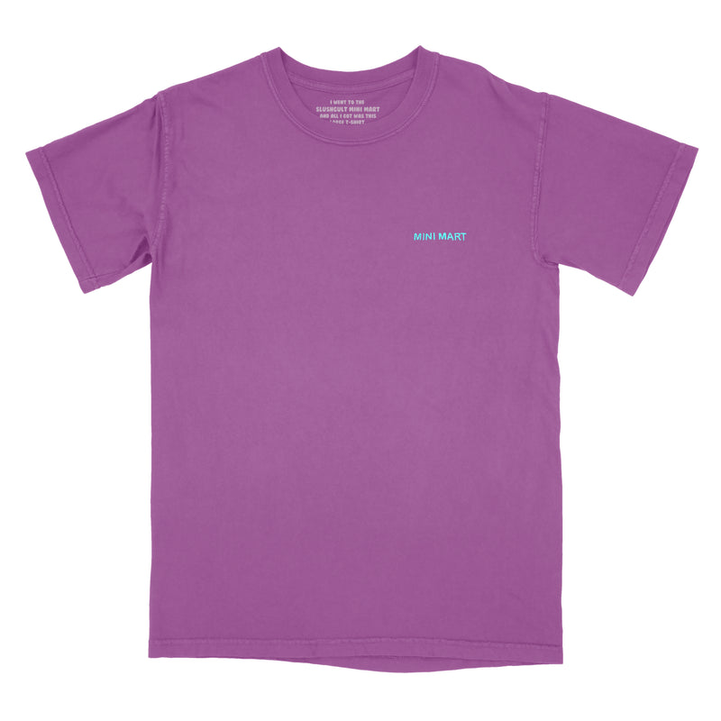 Mini Mart Uniform Tee Berry