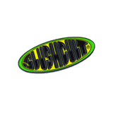 Slant Pin Green/Yellow