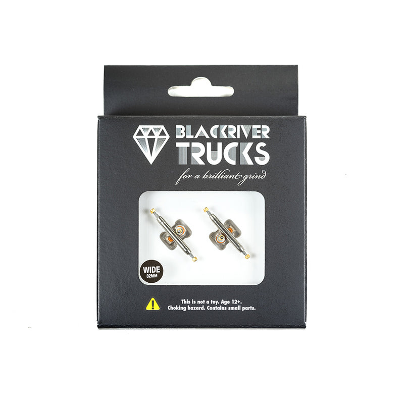 Blackriver Wide 2.0 Silver Trucks (32mm)