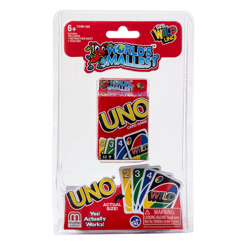 Worlds Smallest Uno Card Game!
