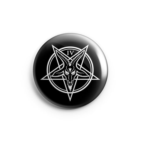 Baphomet - Button Pin