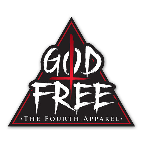 God Free Die-cut Sticker