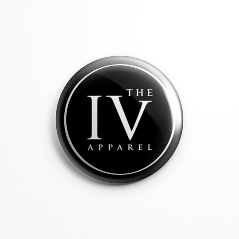 IV Icon - Button Pin