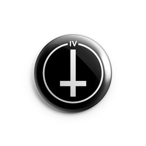 Inverted Cross | Button Pin