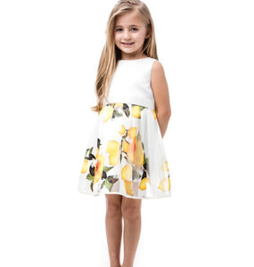 Little Petal Lemon Dress