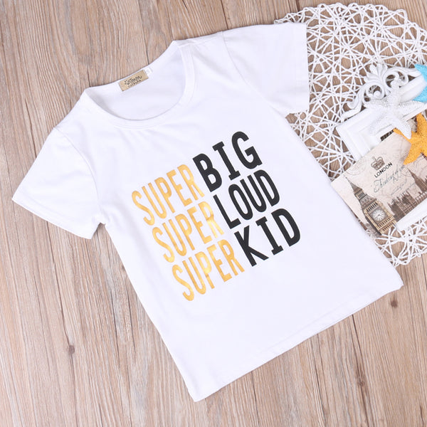 Super Family Matching T-Shirts (Child Size NB to 4T)