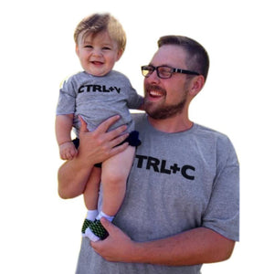 Daddy & Son Copy Paste T Shirt