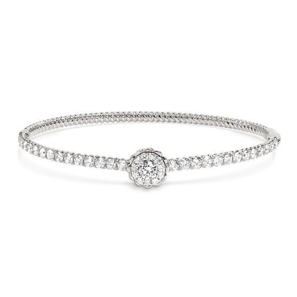 TWIST BLOOM BANGLE