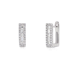 Pinnale EARRINGS with Bejewelled Frame