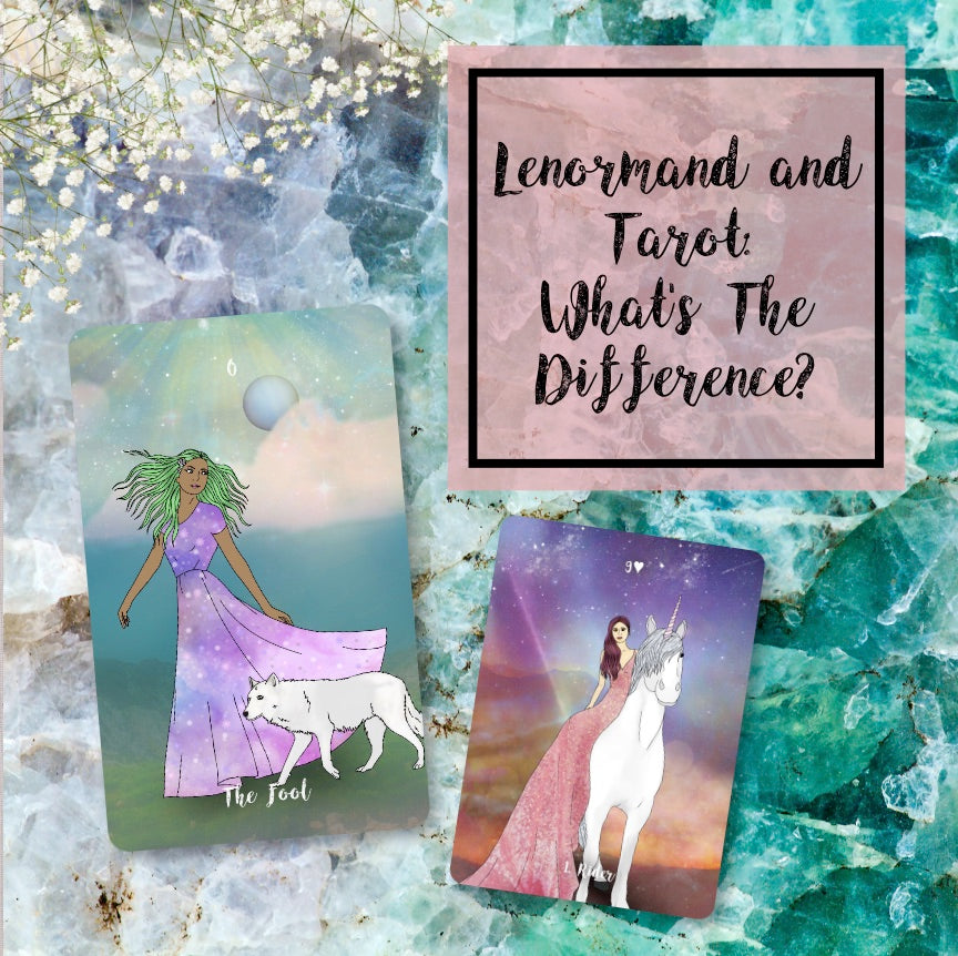 Lenormand and Tarot: What's The Difference?